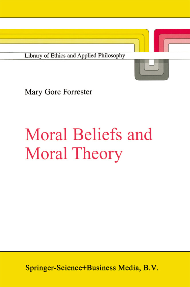 Moral Beliefs and Moral Theory als Buch (kartoniert)