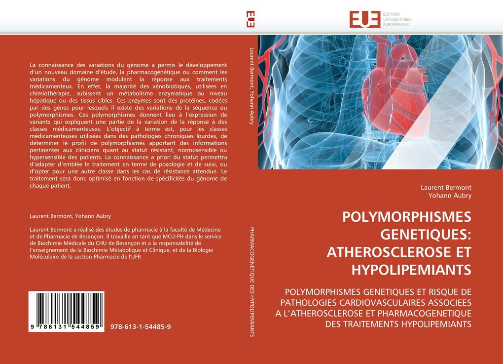 POLYMORPHISMES GENETIQUES: ATHEROSCLEROSE ET HYPOLIPEMIANTS als Buch (kartoniert)