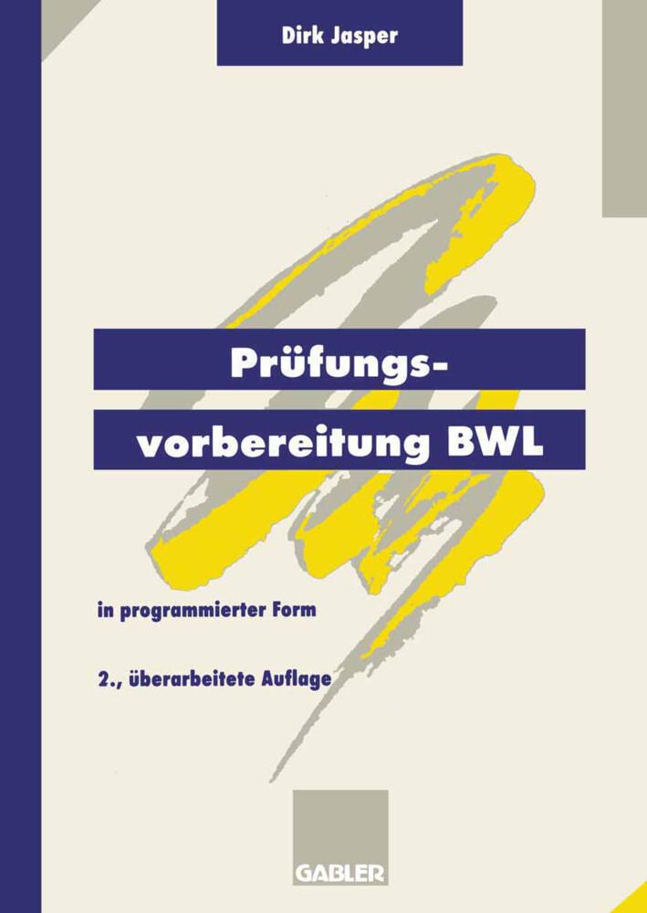 Prüfungsvorbereitung BWL als Buch (gebunden)