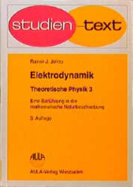 Theoretische Physik III. Elektrodynamik als Buch (kartoniert)