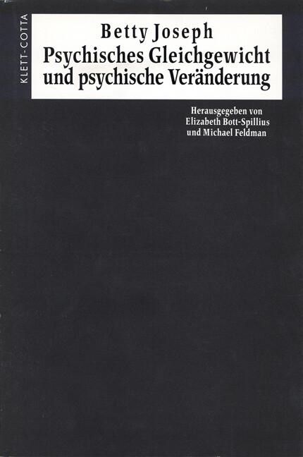 Psychisches Gleichgewicht und psychische Veränderung als Buch (gebunden)