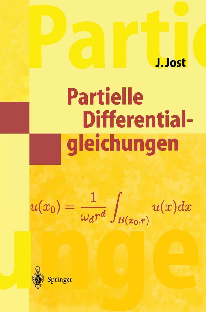 Partielle Differentialgleichungen als Buch (kartoniert)