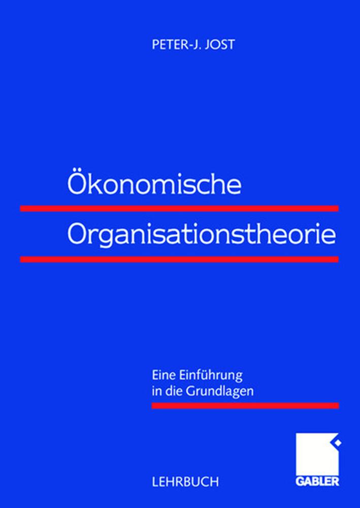 Ökonomische Organisationstheorie als Buch (kartoniert)