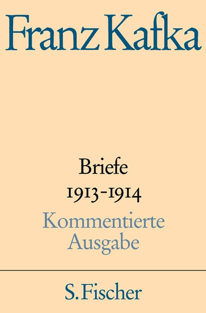 Briefe 1913-1914 als Buch (gebunden)