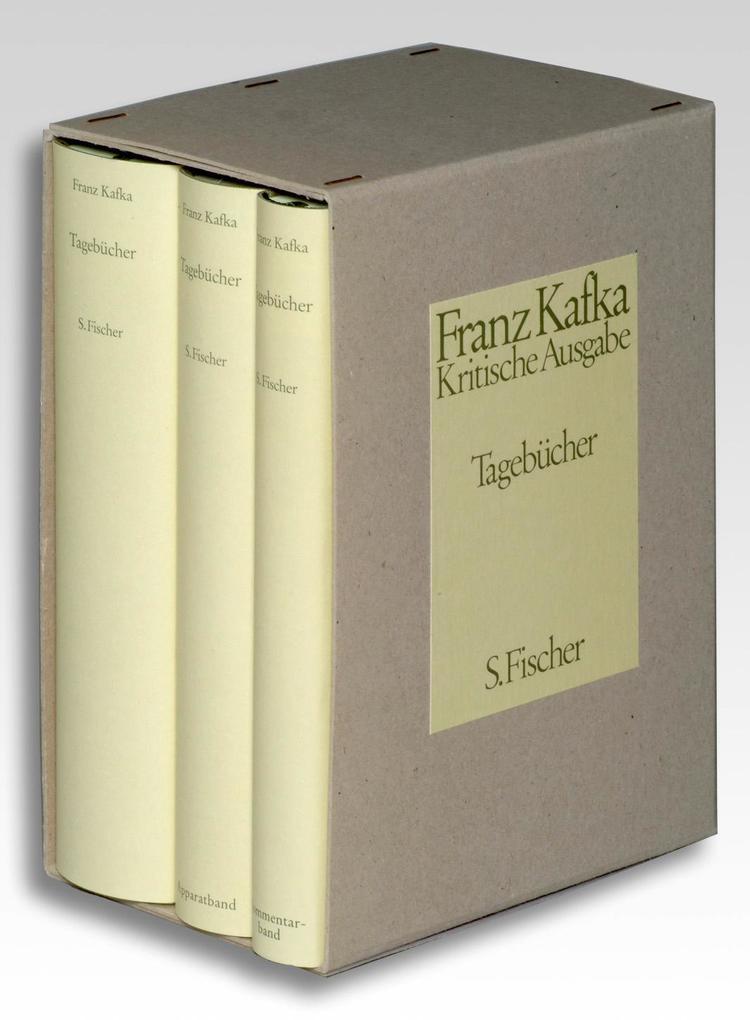 Tagebücher. Kritische Ausgabe. Textband / Apparatband / Kommentarband als Buch (gebunden)