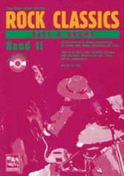ROCK CLASSICS ' Bass und Drums' 2. Inkl. CD als Buch (kartoniert)