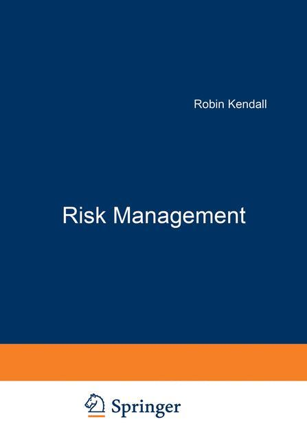 Risk Management als Buch (gebunden)
