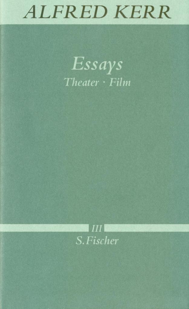 Essays als Buch (gebunden)