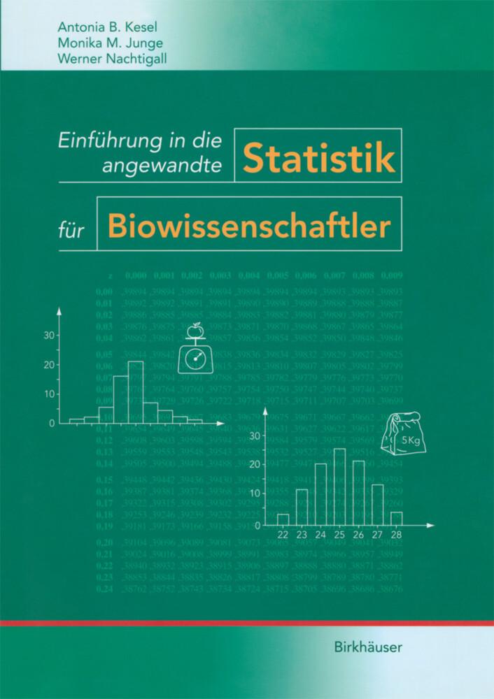 Einführung in die angewandte Statistik für Biowissenschaftler als Buch (kartoniert)