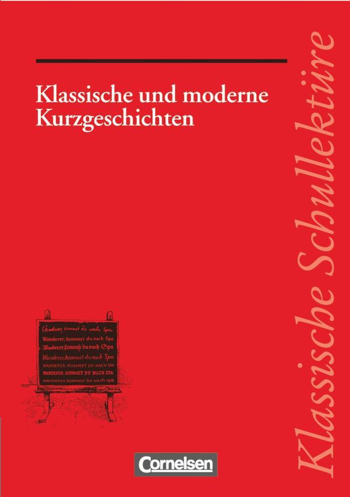 Klassische und moderne Kurzgeschichten als Buch (kartoniert)