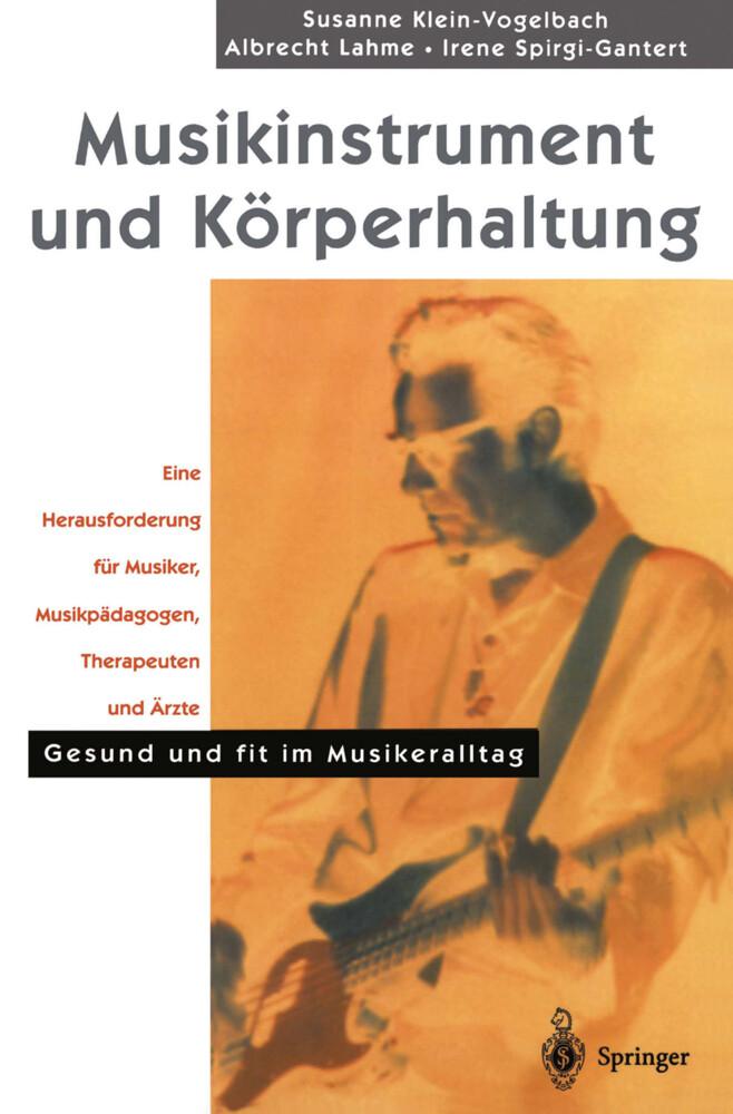 Musikinstrument und Körperhaltung als Buch (kartoniert)