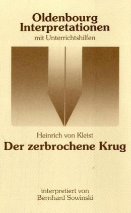 Der zerbrochene Krug. Interpretationen als Taschenbuch