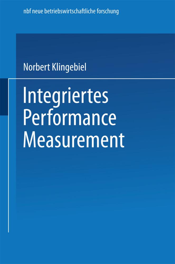 Integriertes Performance Measurement als Buch (kartoniert)