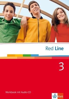 Red Line 3. Workbook mit Audio-CD als Buch (geheftet)