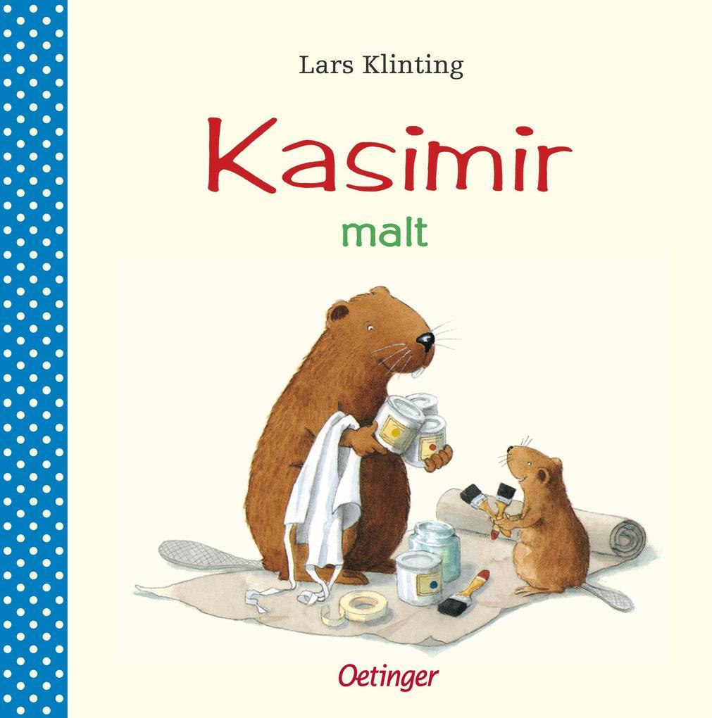 Kasimir malt als Buch (kartoniert)