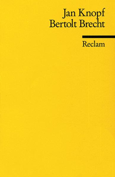 Bertolt Brecht als Taschenbuch