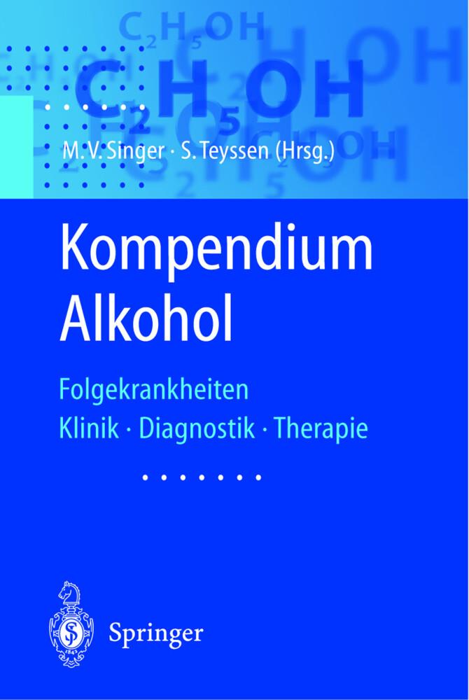 Kompendium Alkohol als Buch (kartoniert)