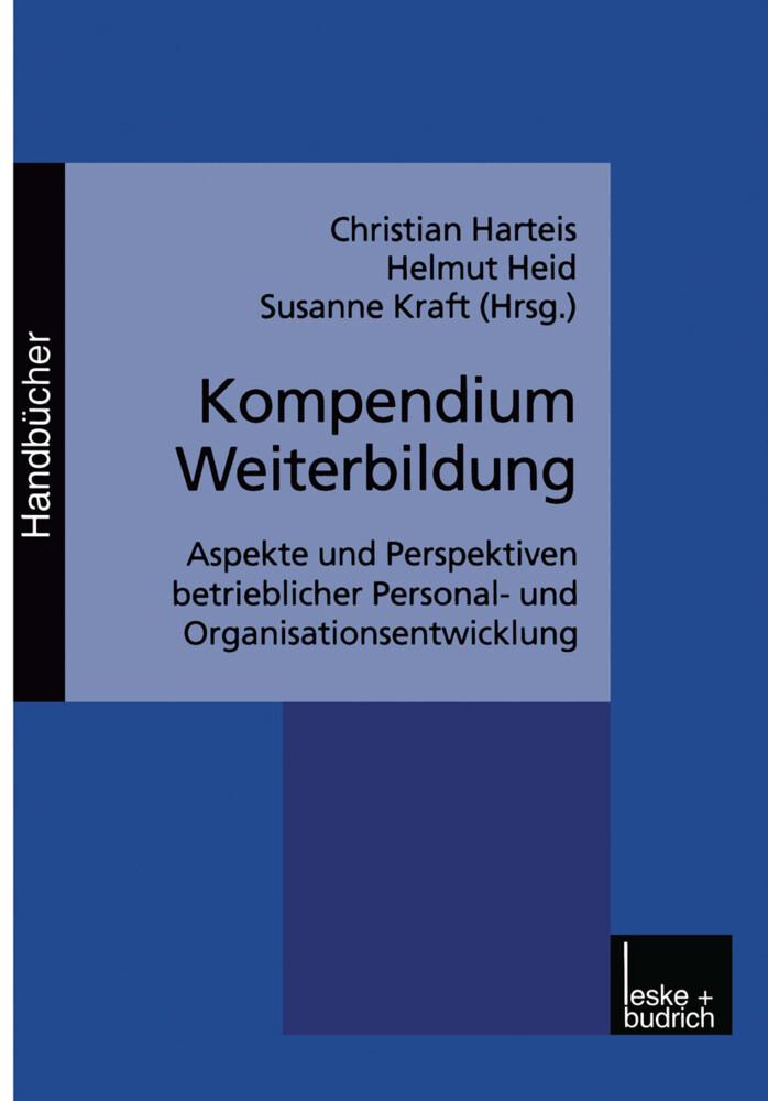 Kompendium Weiterbildung als Buch (kartoniert)