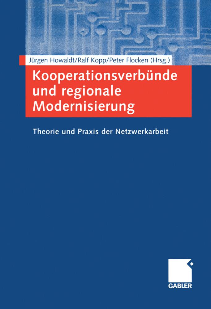 Kooperationsverbünde und regionale Modernisierung als Buch (kartoniert)