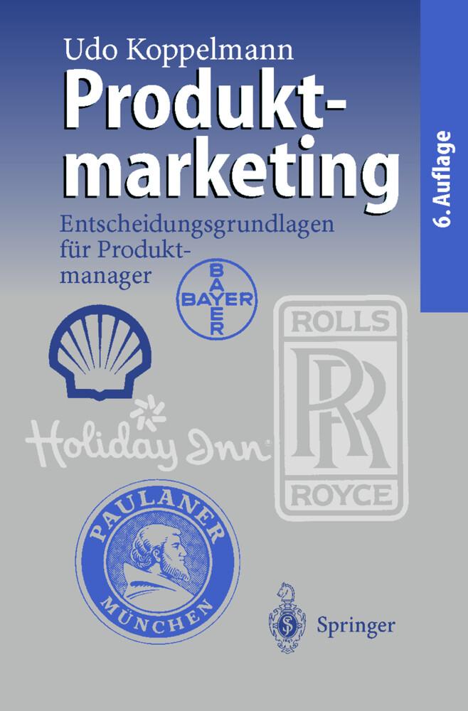 Produktmarketing als Buch (kartoniert)