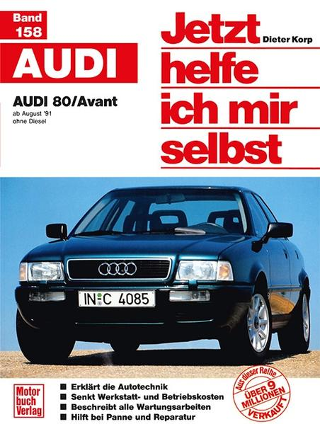 Audi 80/ Avant als Buch (kartoniert)