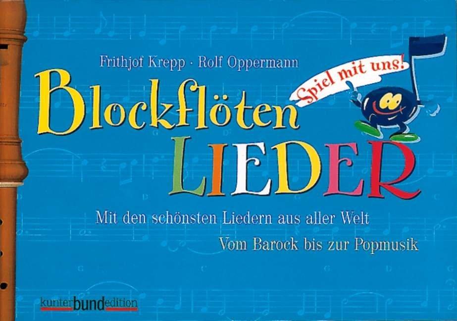 Spiel mit uns! 2. Blockflötenlieder als Buch (kartoniert)