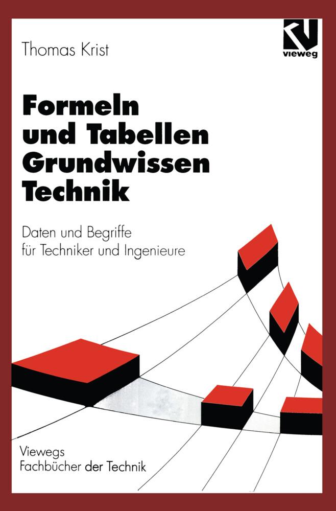 Formeln und Tabellen Grundwissen Technik als Buch (kartoniert)