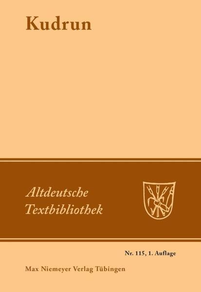 Kudrun als Buch (kartoniert)