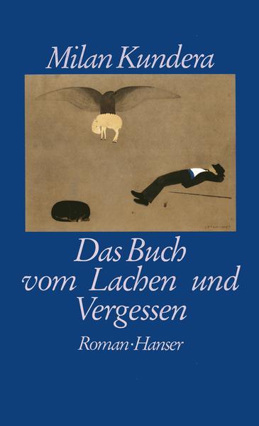 Das Buch vom Lachen und Vergessen als Buch (gebunden)