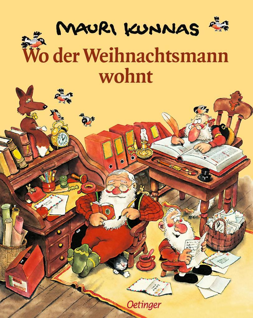 Wo der Weihnachtsmann wohnt als Buch (gebunden)
