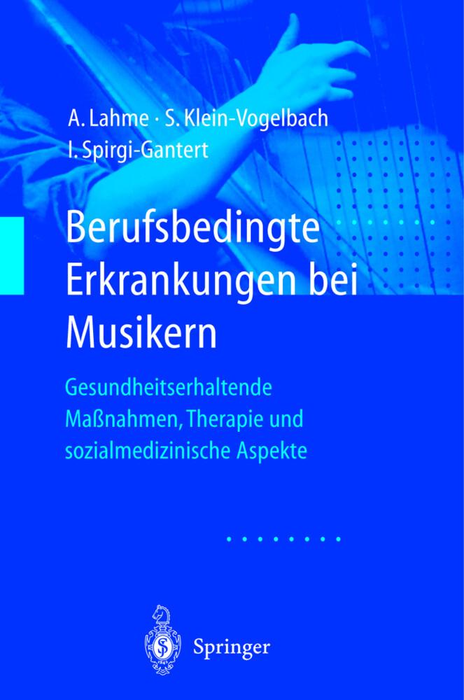 Berufsbedingte Erkrankungen bei Musikern als Buch (kartoniert)