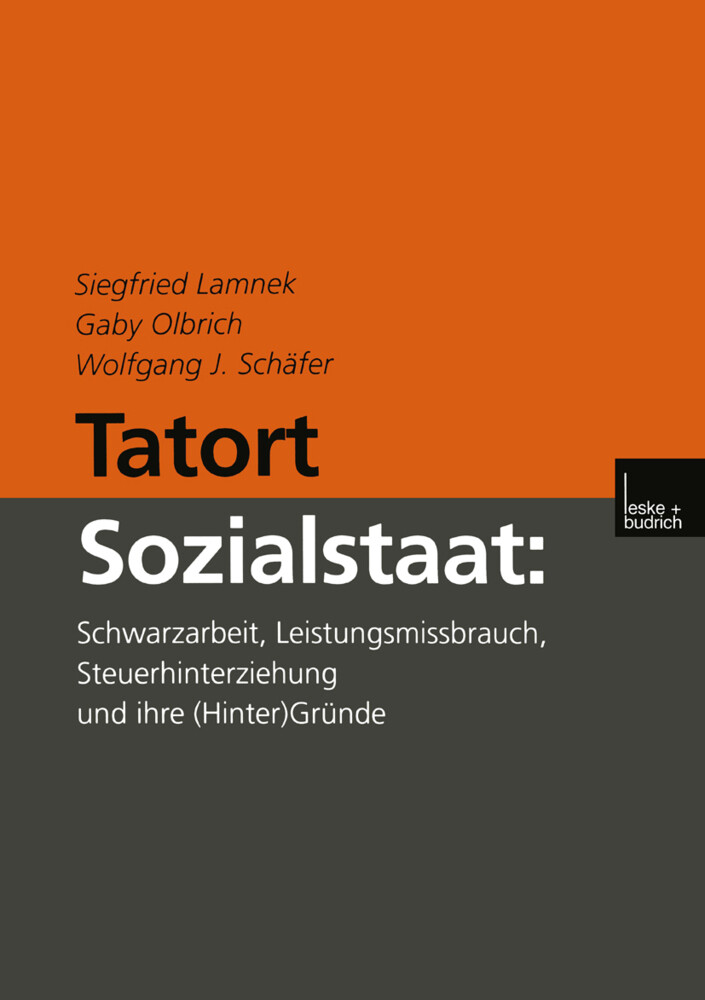 Tatort Sozialstaat als Buch (gebunden)