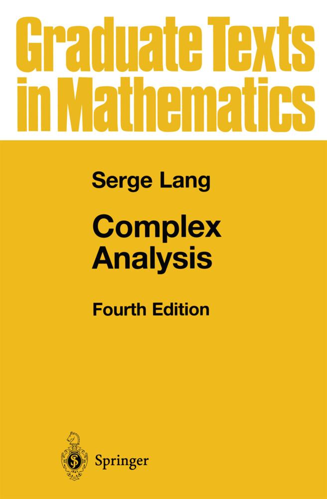 Complex Analysis als Buch (gebunden)
