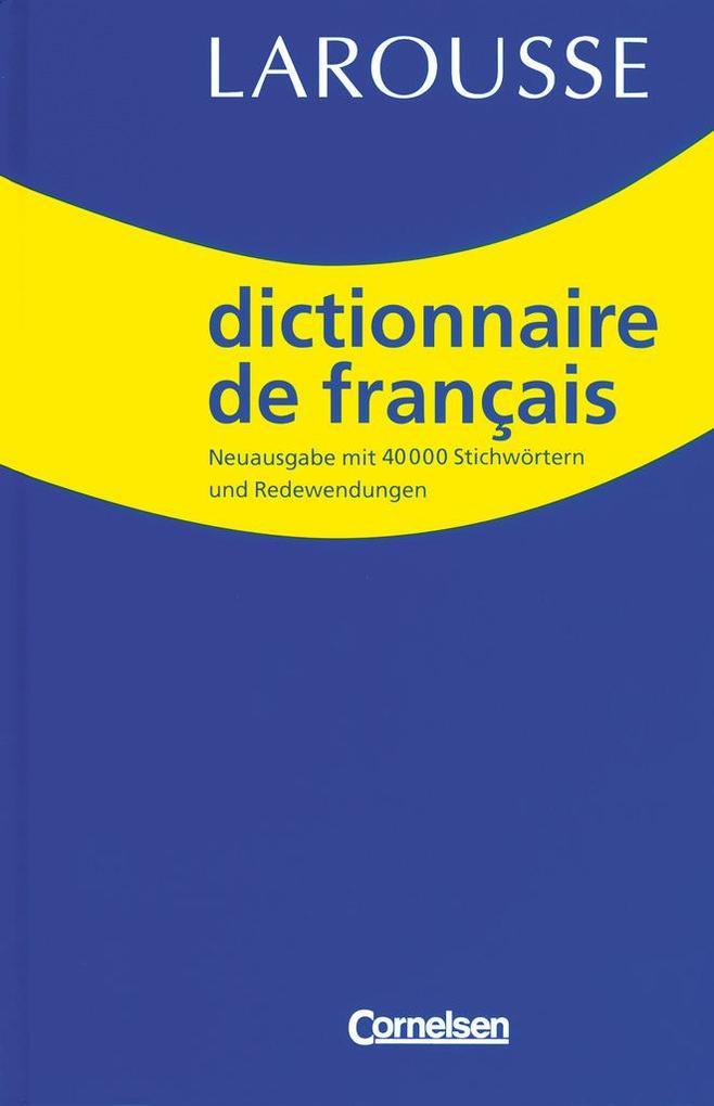 Dictionnaire de Francais als Buch (gebunden)