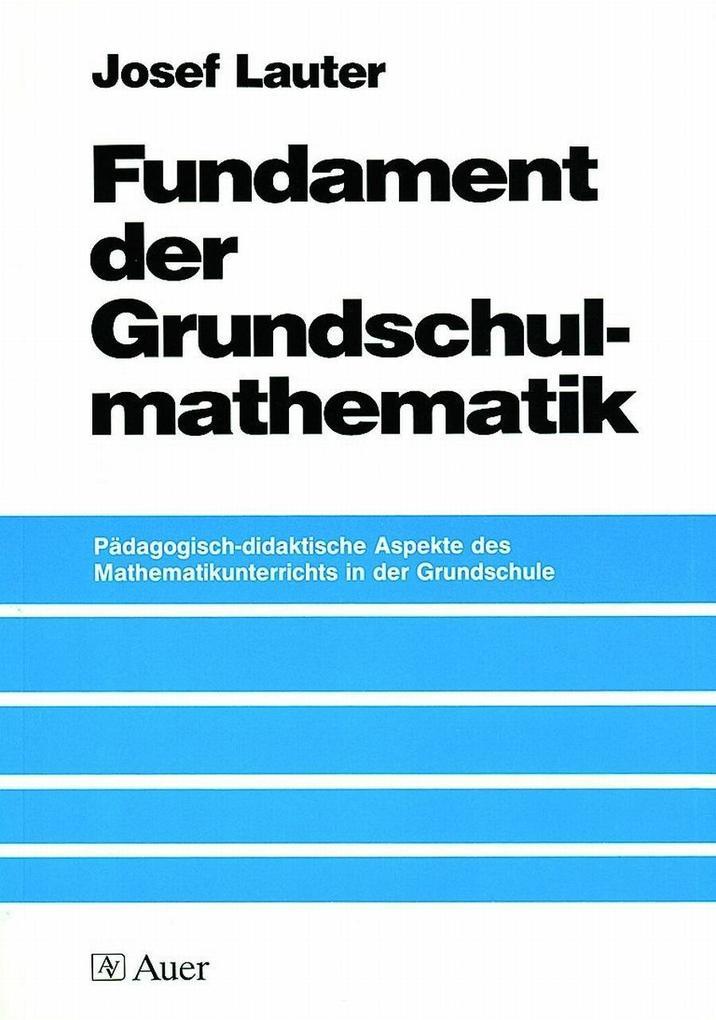 Fundament der Grundschulmathematik als Buch (kartoniert)