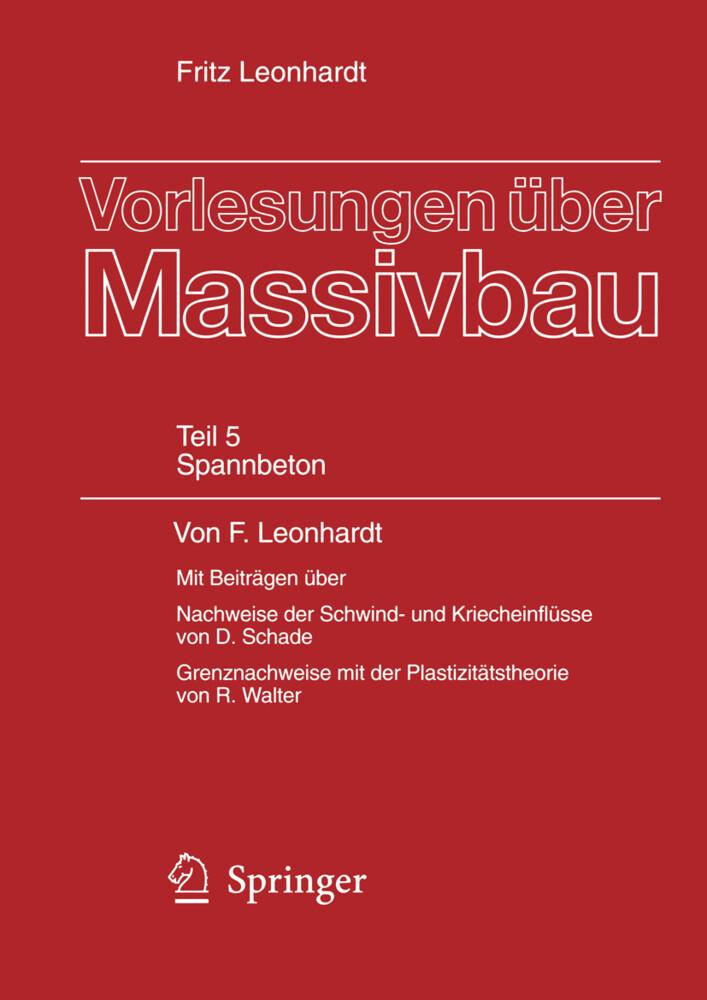 Vorlesungen über Massivbau als Buch (kartoniert)