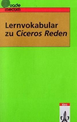 Lernvokabular zu Ciceros Reden als Buch (kartoniert)