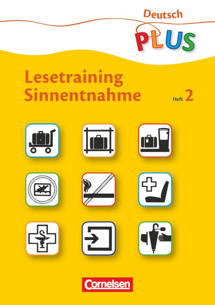 Lesetraining Sinnentnahme Heft 2 als Buch (kartoniert)