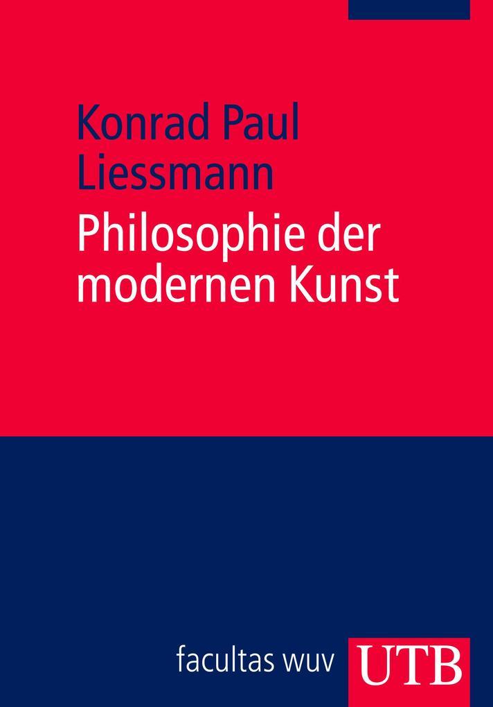 Philosophie der modernen Kunst als Buch (kartoniert)