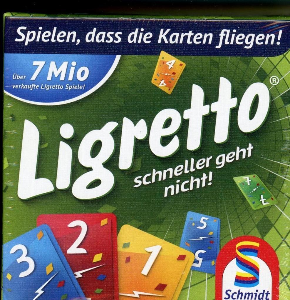 Ligretto grün als Spielware
