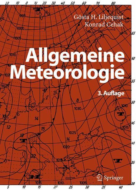 Allgemeine Meteorologie als Buch (gebunden)