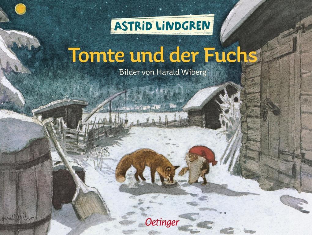 Tomte und der Fuchs als Buch (gebunden)