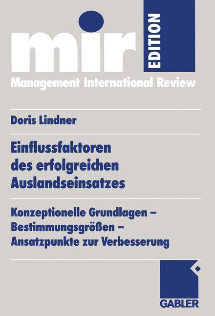 Einflussfaktoren des erfolgreichen Auslandseinsatzes als Buch (kartoniert)