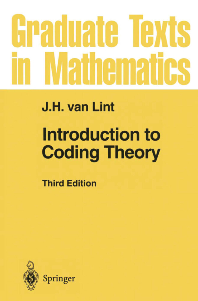 Introduction to Coding Theory als Buch (gebunden)