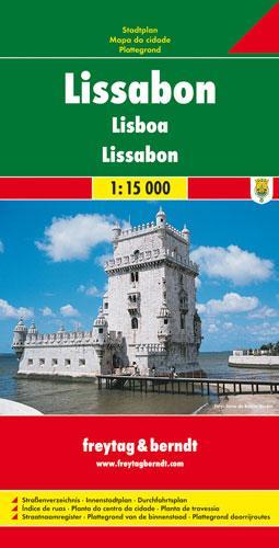Lissabon 1 : 15 000 als Blätter und Karten