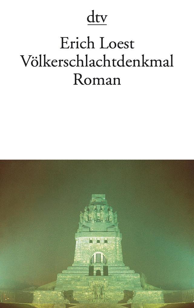 Völkerschlachtdenkmal als Taschenbuch