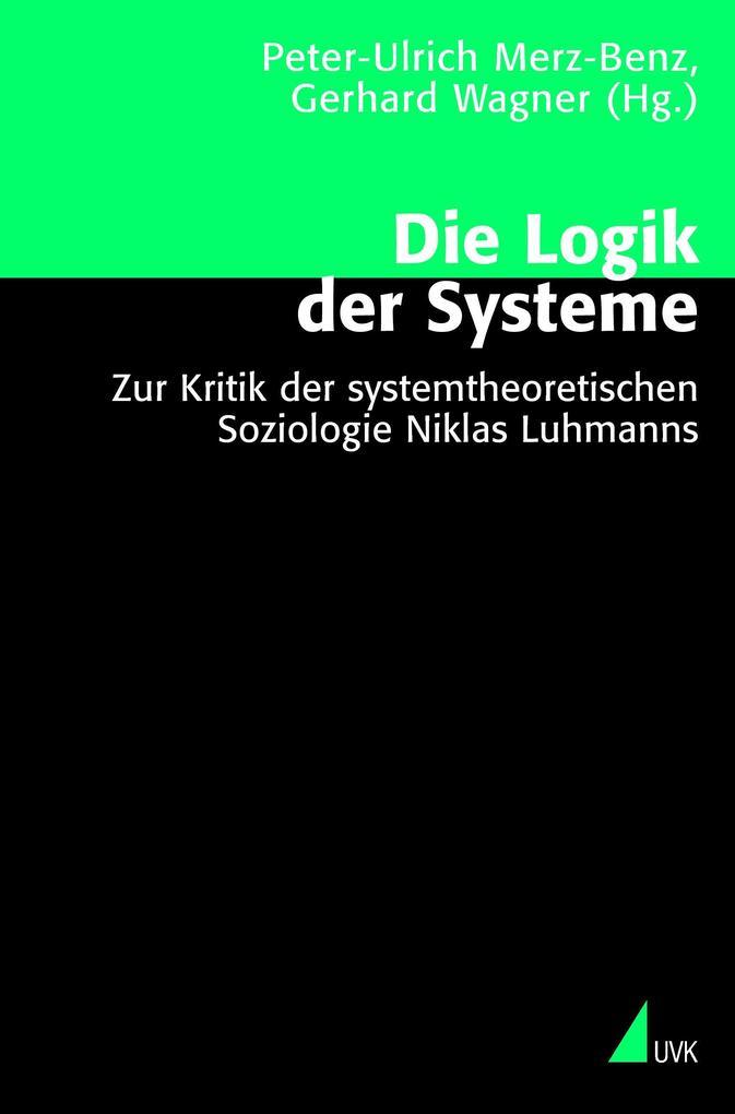 Die Logik der Systeme als Buch (kartoniert)