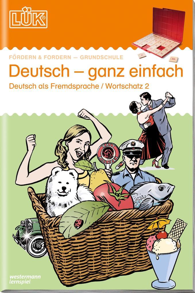 LÜK Deutsch ganz einfach 2 als Buch (geheftet)