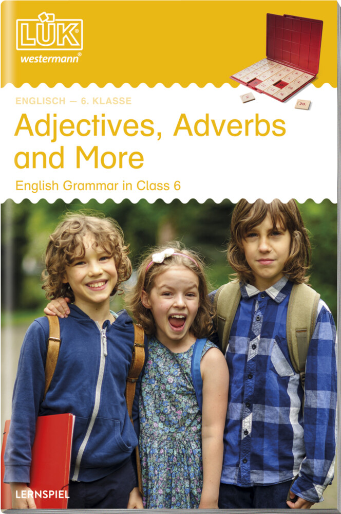 LÜK. English Grammar. 6. Klasse - Englisch: Adjectives, Adverbs and More als Buch (geheftet)