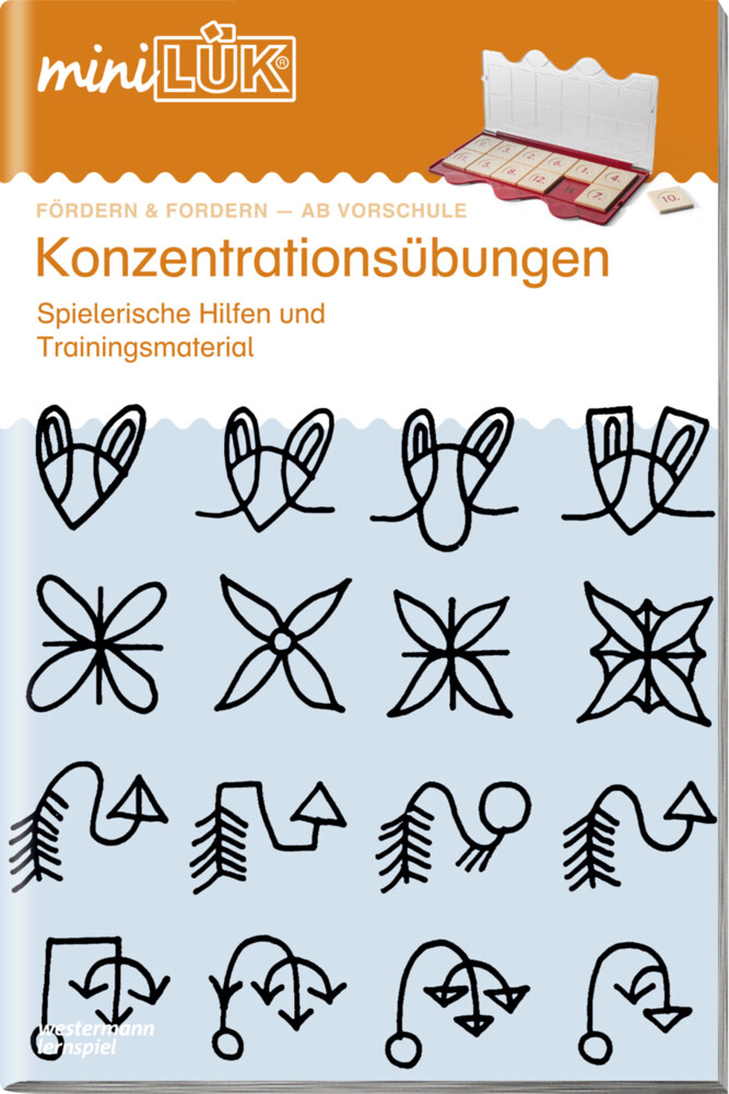 miniLÜK. Konzentrationsübungen 1 als Buch (geheftet)